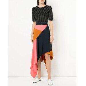 Peter Pilotto Cady Asymmetrical Midi Skirt - 4